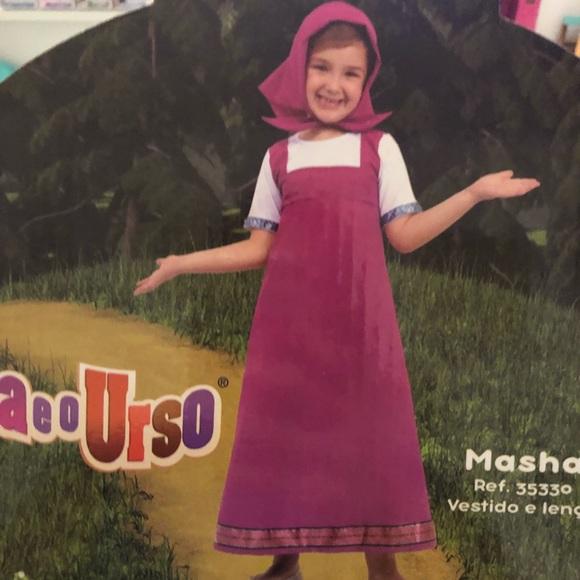 Costumes Masha And The Bear Costume Poshmark